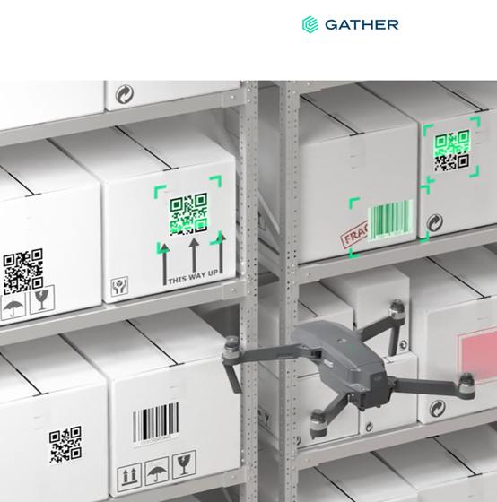 """Gather通过计算机视觉和无人机,自动盘点仓库库存"""""""