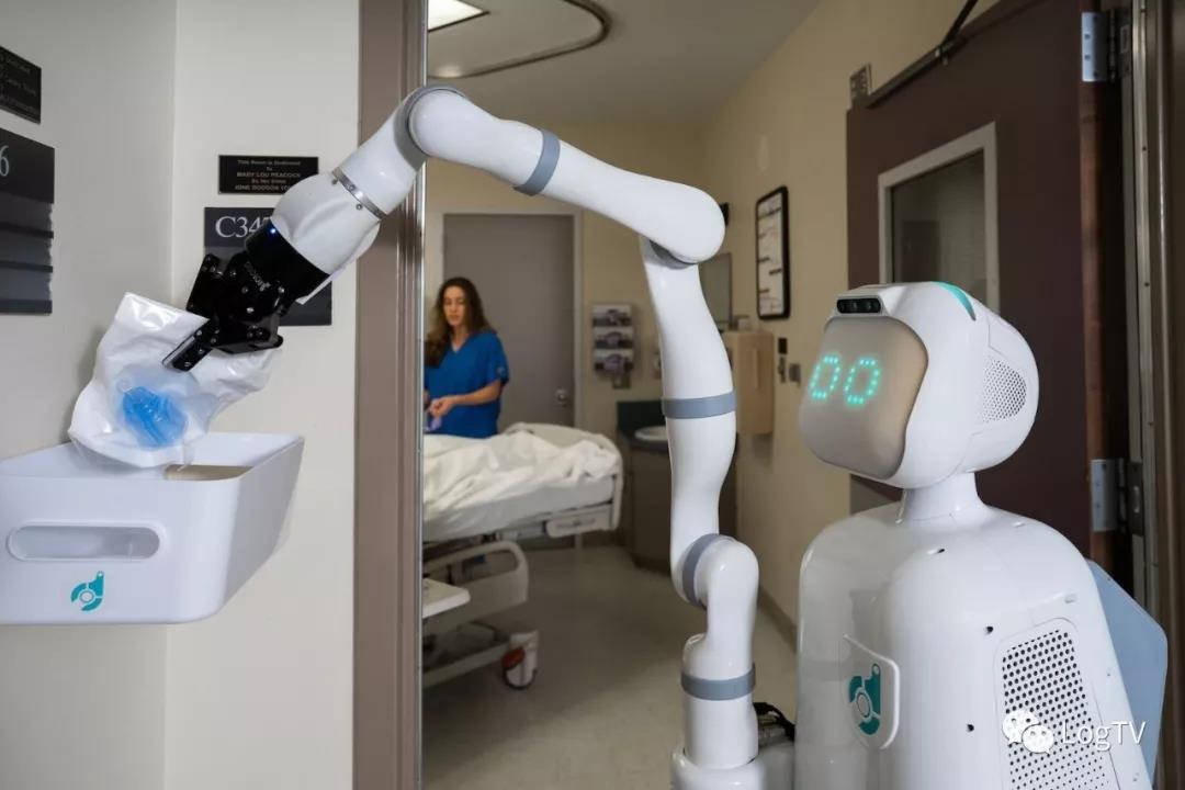 """医院全程自动化物流机器人上线,降低护士30%的工作量"""""""