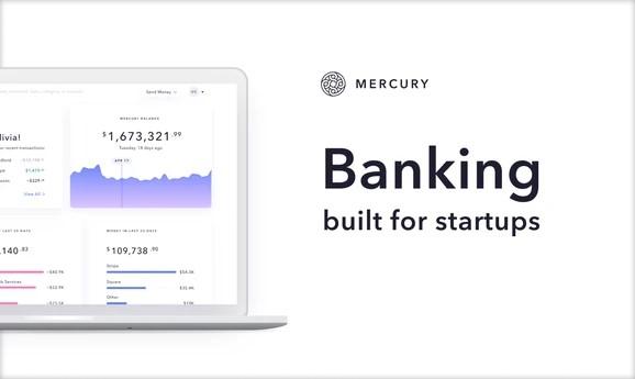 """人工智能公司Mercury为初创企业提供一站式自动化财务服务,获A轮2000万美元融资"""""""