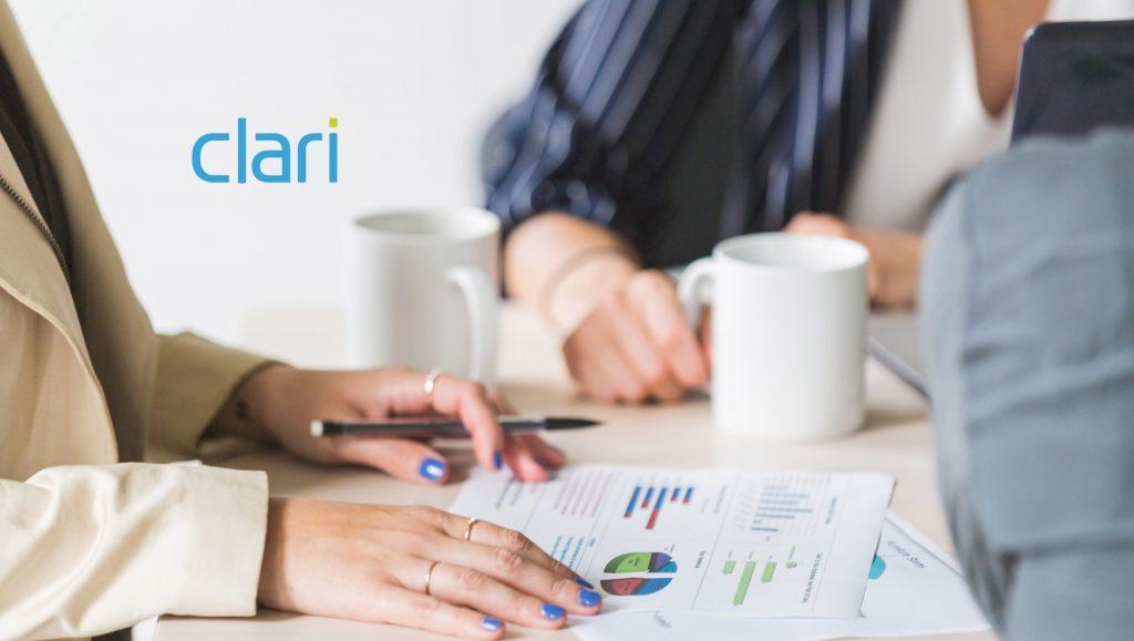 """人工智能企业Clari提供自动化销售分析平台,获得D轮6000万美元融资"""""""