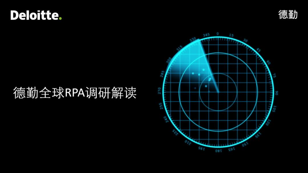 德勤全球RPA调研解读系列之三:为什么自动化预期收益难以实现?