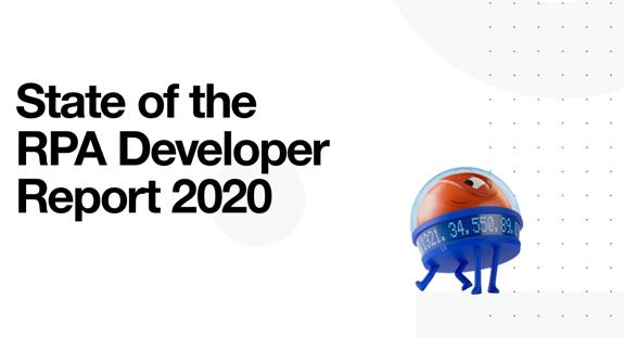 """2020全球RPA开发人员调查报告:主流开发语言、开发流程比重、地区差异以及未来开发趋势"""""""