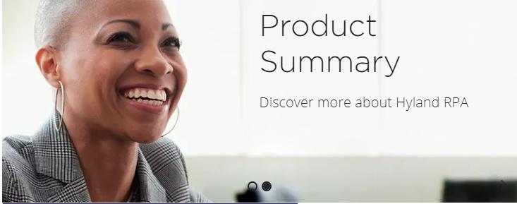"RPA行业再迎重磅玩家!软件巨头Hyland发布RPA产品""Hyland RPA"""""