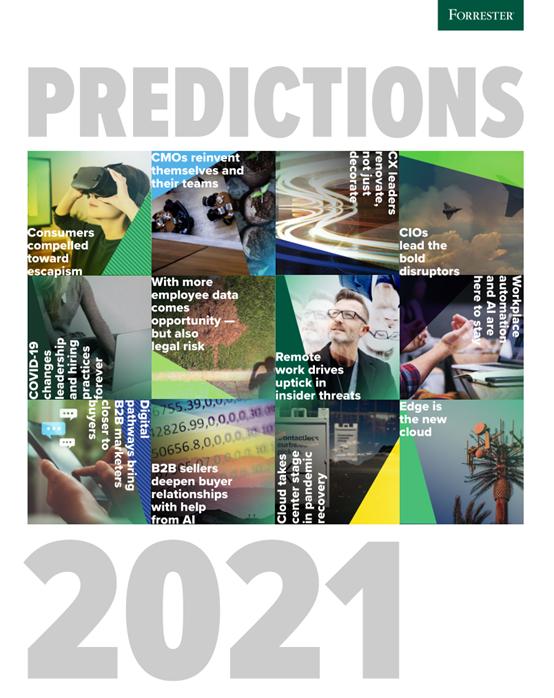 Forrester发布《2021年技术趋势预测》:RPA和AI,将长期存在工作场景中
