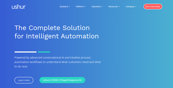 RPA企业Ushur获得B轮2500万美元融资,提供无代码智能自动化服务
